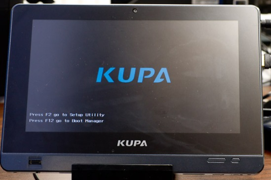Kupa X11 Boot Screen