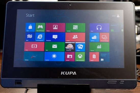 Kupa X11 Windows 8 - Metro