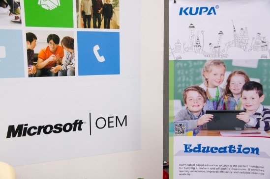 Kupa at Microsoft Computex 2012 event